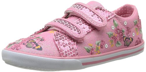 Start Rite - Sneaker Botanical, Bambina, Rosa (Pink Sparkle Canvas)), 24