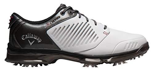 Callaway Chaussures de Golf Homme - - Blanco/Gris, 48,5 EU