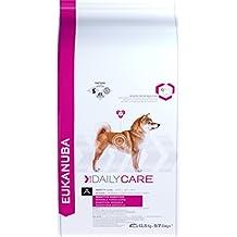 Eukanuba Daily Care Sensitive Digestion Alimento Completo per Cani Adulti di Tutte Le Taglie al Pollo - 12500 gr