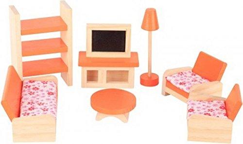 The Toy Company 0046013662 - BEE Puppenhausmöbel Wohnzimmer