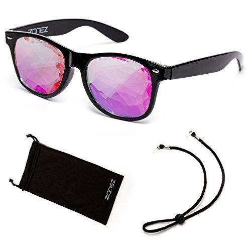 Zonez Kaleidoscope Glasses - Color Options