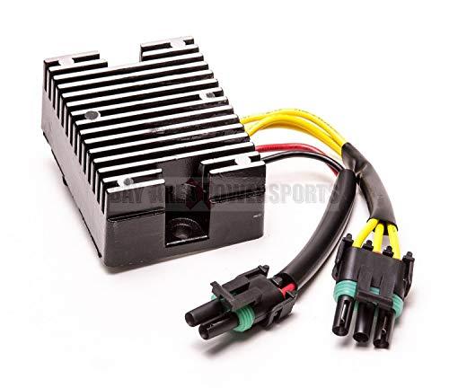 Regulator Spannungsgleichrichter für Sea DOO 278000241 278001554 XP GSX GTI LRV GTX RFI DI Zerama (Sea Doo Batterie)
