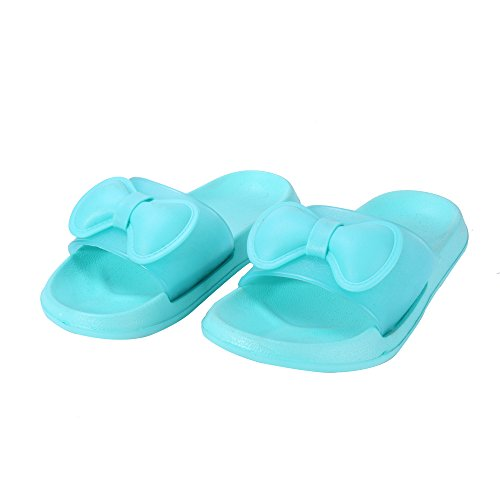 WILLIAM&KATE Pistoni Variopinti Per le Donne in Estate Casual Pantofole Anti-Slip Piano Indoor Slipper Sandalo Bagno Slipper Blu
