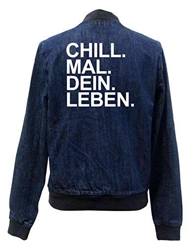 Chill Mal Dein Leben Jeans Bomberjacke Girls Certified Freak-S