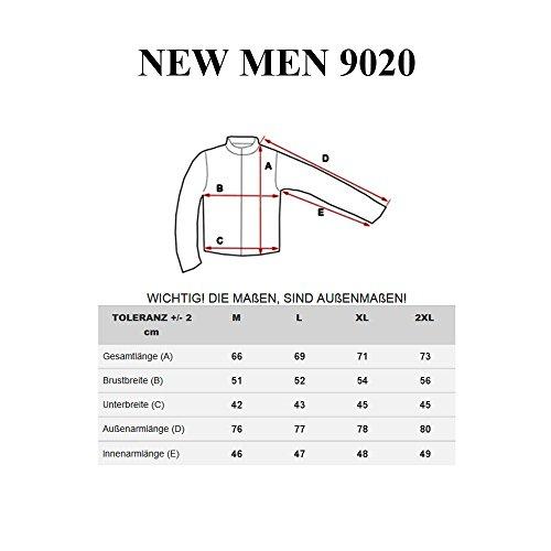 BOLF Herren Pullover Sweater Sweatshirt Strickpullover Pulli Slim Mix 5E5 Motiv Rot_9020