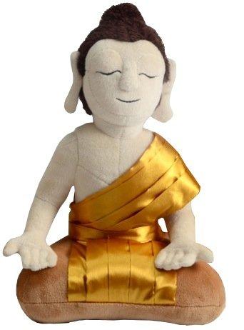 Peluche bouddha Thaïlande - 28 cm