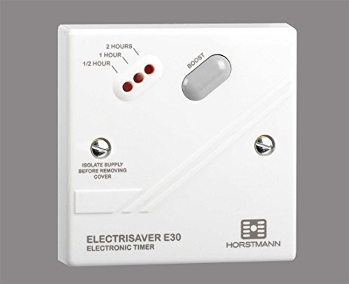 Horstmann Electrisaver E30 30-120 Minute Boost Timer Switch - Switches Off  Automatically After Set Time