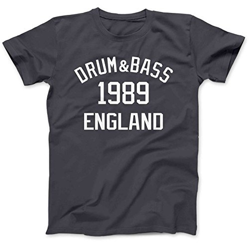 Drum & Bass Music 1989 T-Shirt 100% Premium Cotton