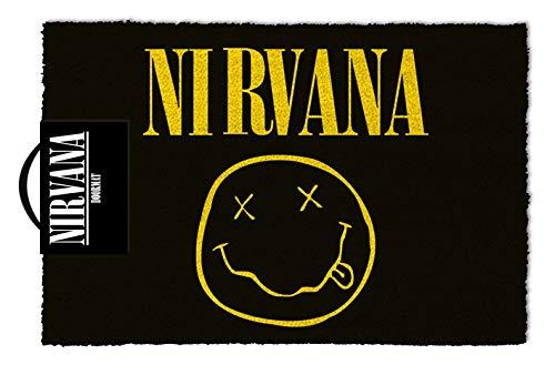 Nirvana Felpudo 40x 60cm símbolo