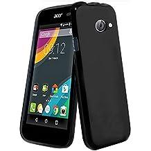 Acer Liquid Z220 Caso Elegante - Negro Tpu Gel Funda Case Para El Acer Liquid Z220 - thinkmobile