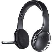 Logitech H800 Kabelloses Bluetooth Headset, Hi-Definition Stereo-Kopfhörer mit Noise-Cancelling Mikrofon, Bluetooth und Nano USB-Empfänger, Multi-Device, Lange Akkulaufzeit, PC/Mac/Tablet/Mobilgeräte
