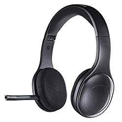 Logitech H800 Wireless Bluetooth Headset, Hi-Definition Stereo-Kopfhörer mit Noise-Cancelling Mikrofon, Bluetooth und Nano USB-Empfänger, Multi-Device, Lange Akkulaufzeit, PC/Mac/Tablet/Mobilgeräte