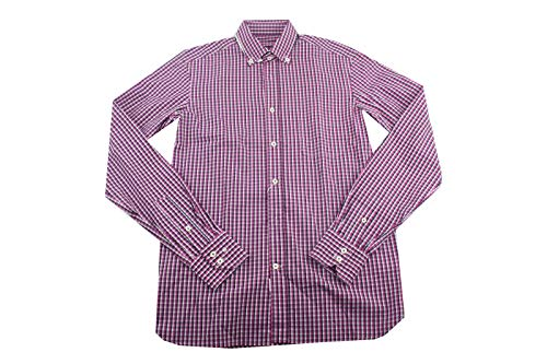 van Laack Royal Herren Freizeithemd Hemd Langärmlige Gr: S/38 lila