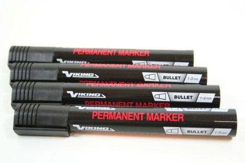 12-stuck-viking-permanentmarker-1-bis-3-mm-schwarz-colli-marker