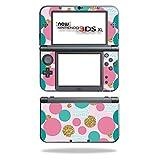 MightySkins Schutzfolie für Nintendo Sticker, 100 erhältlich Golden Bubbles Nintendo New 3DS XL (2015)