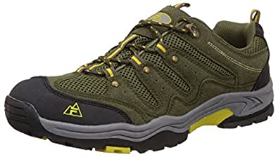 Fila Men's Hill Hike Black Olive Multisport Training Shoes -10 UK/India (44 EU)