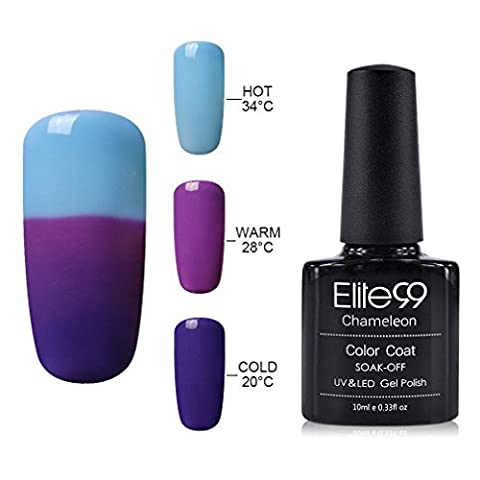 Gel Nail Polish, Elite99 UV LED Temperature Colour Changing Gel