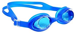 PLYR High Quality Slip-Resistant Swimming Goggles with Earplugs (Color May Vary)