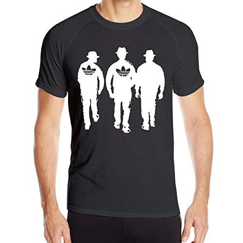 Run Dmc Dance Rap Hip Hop 80s Rock Music Man Short Sleeve Sports Quick-Drying Clothes