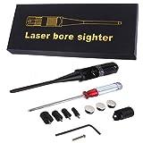 #1: Veena Red Dot Laser Boresighter Bore Sighter Kit For Hunting 22 To 50 Caliber Rifles