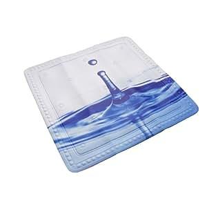 """Duscheinlage, Duschmatte, Sicherheitseinlage für die Badewanne von Kleine Wolke Modell """"DROP"""" Grösse: 55 x 55cm"""