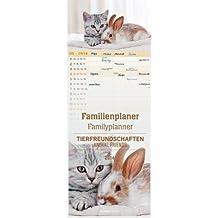 Familienplaner Tierfreundschaften 2014 Streifenkalender