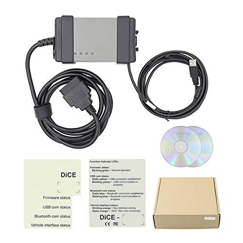 setester Scanner Service Kabel USB für Volvo Auto vida würfel 2014d schwarz ()