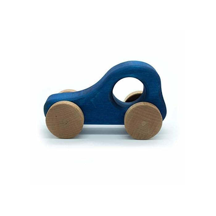 4betterdays Holzauto geölt mit Pflanzenölen Kinderspielzeug Handarbeit aus Deutschland 1