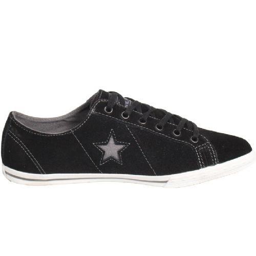 Converse One star low pro ox 122990, Baskets Mode Homme Noir