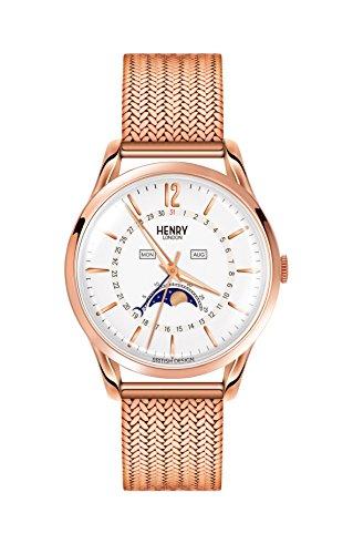 Henry London Unisex-Armbanduhr HL39-LM-0162