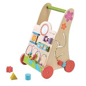 everearth ee33553 trotteurs baby walker chariot de. Black Bedroom Furniture Sets. Home Design Ideas