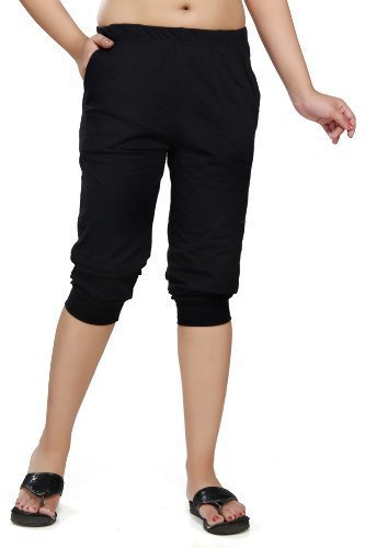 Clifton Cotton Women's Capri (AAA00009225_Black_Small)
