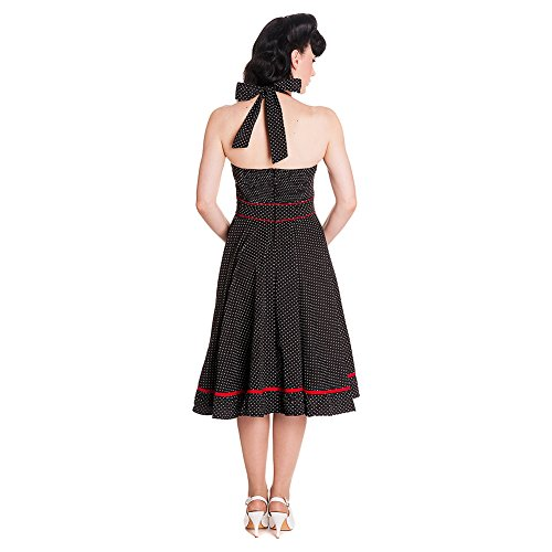 Hell Bunny 4114 - Vestito Vanity Dress Nero
