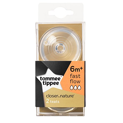 Tommee Tippee Closer to Nature Fast Flow Teats x 2 Test