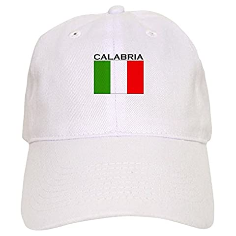CafePress - Calabria, Italy Cap - Baseball Cap with Adjustable Closure, Unique Printed Baseball Hat