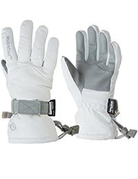 Manbi Kids Rocket Ski Glove - White