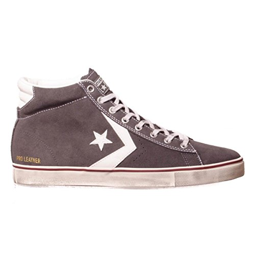 Scarpa Converse Pro Leather Vulc Mid Suede Distressed MainApps Storm Wind/Star White