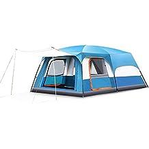 Campaña MAZHONG Tienda grande de dos habitaciones y un salón Camping automático al aire libre 3