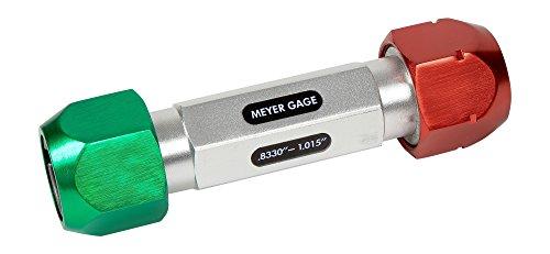 """Meyer Gage 7PGHDE Universalstift-Griff, Reichweite 0,8330-1,015"""" oder 20,38 mm-25,41 mm"""
