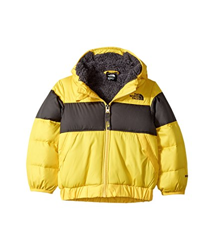 The North Face Toddler Boy's Moondoggy 2.0 Down Jacket - Canary Yellow - 2T (Past - North Boys Face Down Jacket