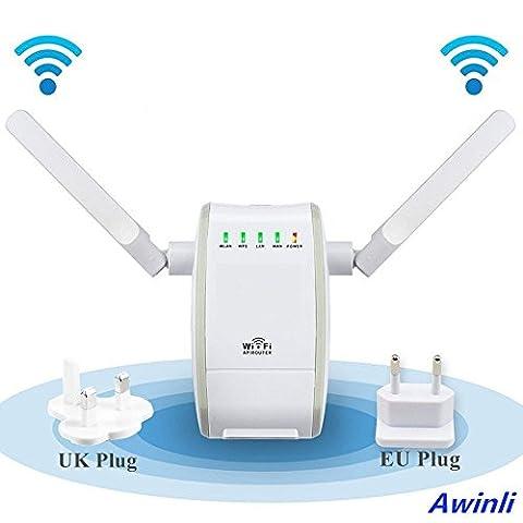 300 Mbps Routeur Sans Fil Wireless Mbps WiFi Répétiteur Wireless Extenseur Réseau Adapteur Internet Amplificateur De Signal Répondre Aux Normes IEEE Et à La Fonction