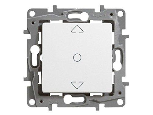 Legrand, 396508 Niloé - Interruptor de persiana, interruptor doble de persianas y...