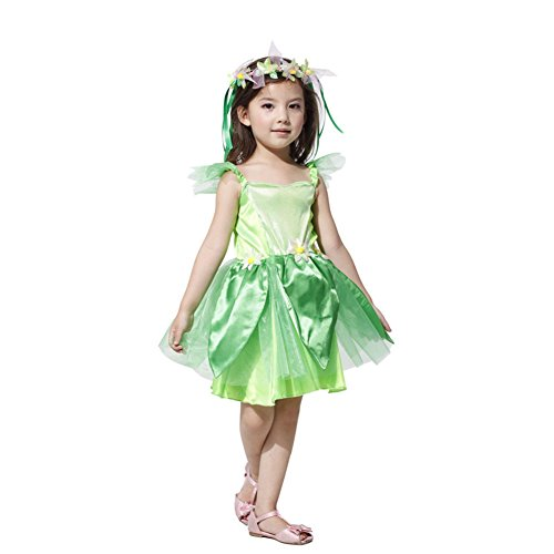 Imagen de tongchou disfraz de hada del bosque para ninas carnaval fiesta halloween l