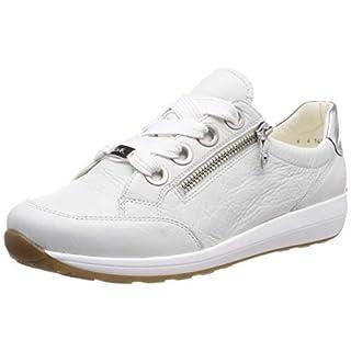 ARA Damen Osaka 1234587 Sneaker Weiss, Silber 07, 40 EU