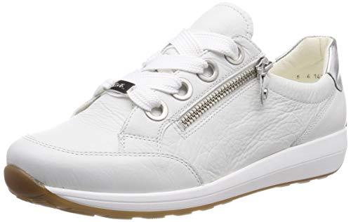 ARA Damen Osaka 1234587 Sneaker, Weiß (Weiss, Silber 07), 38 EU