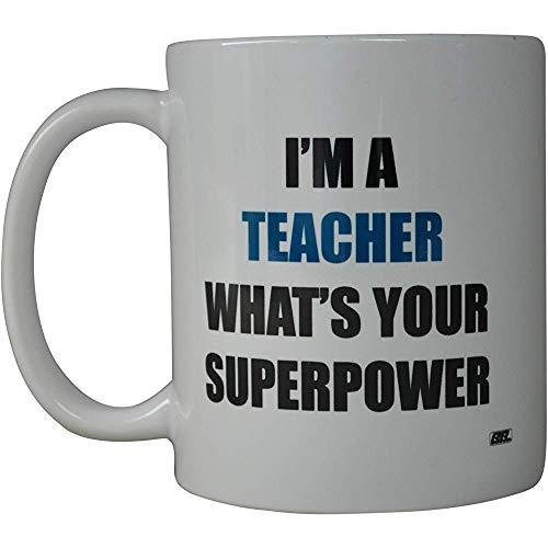 Rogue River Funny Coffee Mug Mejor maestro Soy un maestro ¿Cuál es tu superpoder? Taza de la novedad...