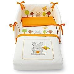 Idea Regalo - Pali 0687BOSCO05 Bosco Set Letto Sfilabile, Arancione