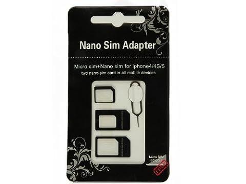 Elfenstall Sparset - Nano SIM Karten Adapter - Nano Sim