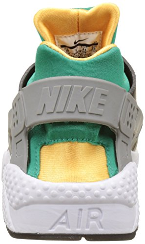 Nike - 318429-018, Scarpe sportive Uomo Nero (Black/White)/Emerald/Resin)