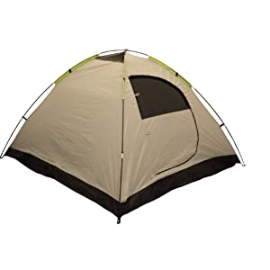 ledge sports ridge 3-person tent, green